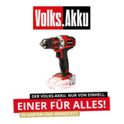 Einhell Akku-Bohrschrauber TE-CD 18/40 Li-Solo