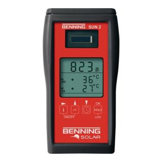 Einstrahlungs-/Temperaturmessgerät z.Messung de...