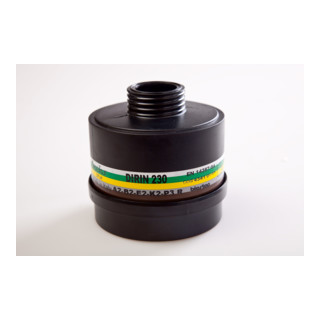 Ekastu Mehrbereichs-Kombifilter Dirin 230 A2B2E2K2-P3R D