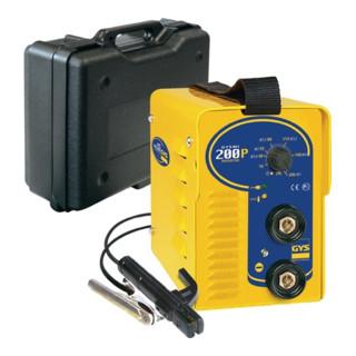 Elektrodenschweißgerät GYSMI 200P 10-200 A m.Zub. 230/50/60 V/Hz5 kg GYS