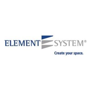 Element System Stahlfachboden B.800mm T.300mm STA weiß