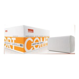Elos Handtücher Satino Comfort 2-lagig naturweiß L230xB250ca.mm f.90 00 469 080