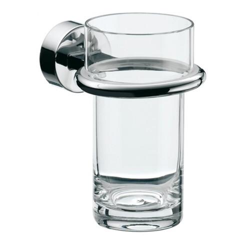 EMCO Glashalter RONDO 2 Kristallglas klar chrom