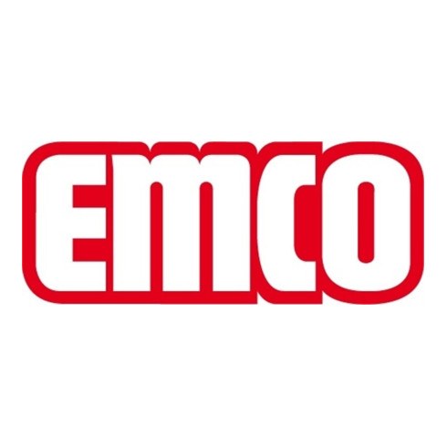 EMCO Toilettenbürstengarnitur FINO Behälter Kristallglas satiniert, Bürstengriff chrom chrom