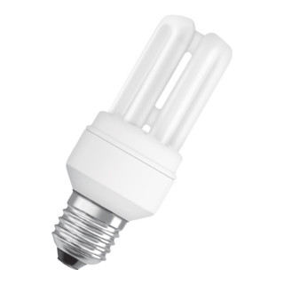 Energiesparlampe 11W E27 Lichtstr. 600Lm warm weiß Tube L.125mm 6000h Energy A