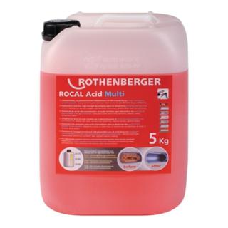 Entkalkungsmittel ROCAL Acid Multi 5 kg f. Kupfer Stahl VA Rothenberger