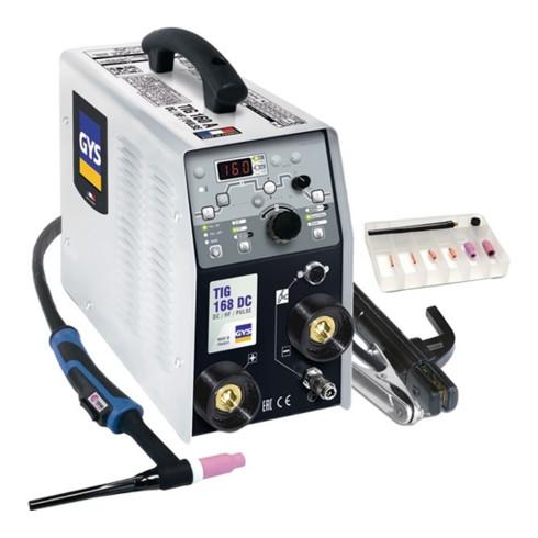 Équipement de soudage GYS TIG 168 DC HF avec accessoires