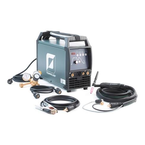 Équipement de soudage TIG TIG 180 AC/DC puls Set avec accessoires 5 - 180 A refr