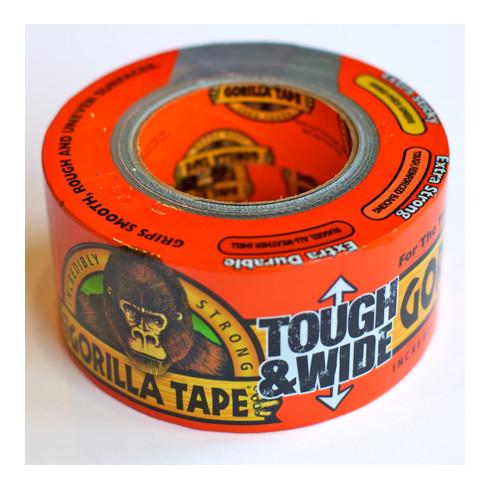 Erbstößer Gorilla Tape Hochleistungsgewebeklebeband 73 mm x 27 m
