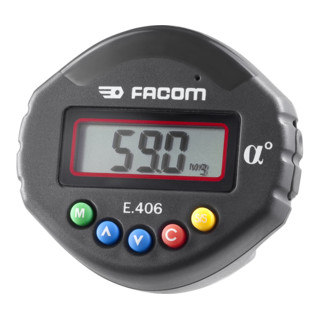 Facom Winkeladapter geeicht 1 - 360°
