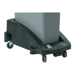 Fahrgestell schwarz f.Wertstoffsammler H280xB380xT600mm