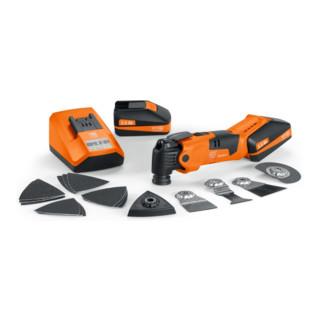 Fein Akku-Oszillierer MultiMaster AFMM 18 QSL/18 V + Zubehör + Koffer