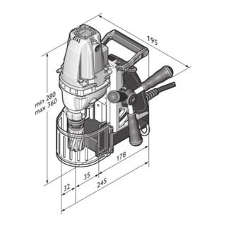 Fein Eco-Magnet-Kernbohrmaschine KBE 30