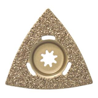 Fein Hartmetall-Raspel Dreiecksform