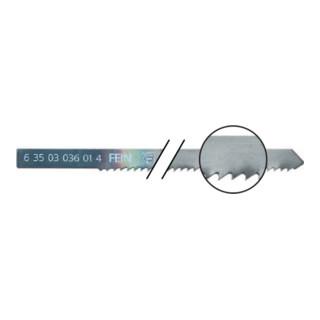 Fein HSS-Sägeblätter Länge 88 mm, Zahnabstand 2,0 mm