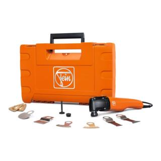 Fein Oszillierer SuperCut Profi-Set Fliesen-/Badsanierung 400 W + Zubehör + Koffer
