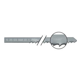 Fein Sägeblätter 5er Pack, Länge 100 mm, Zahnabstand 3,0 mm