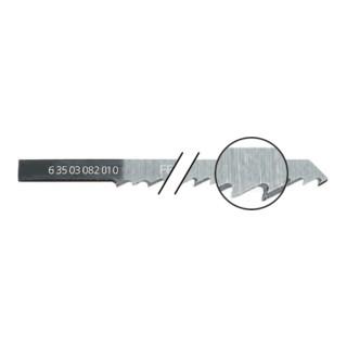 Fein Sägeblätter 5er Pack, Länge 100 mm, Zahnabstand 4,0 mm
