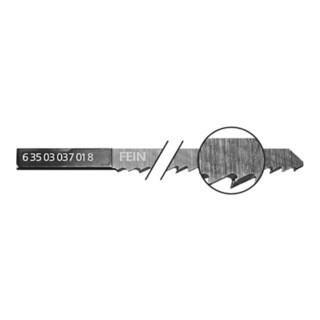 Fein Sägeblätter 5er Pack, Länge 88 mm, Zahnabstand 3,0 mm