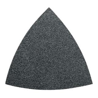 Fein Dreieck-Schleifblatt für Holz und Metall, ungelocht, 50er-Pack