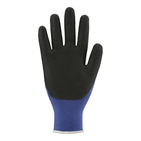 Feinstrick-Handschuh S-Grip Gr.8 blau/schwarz EN 388 PSA II