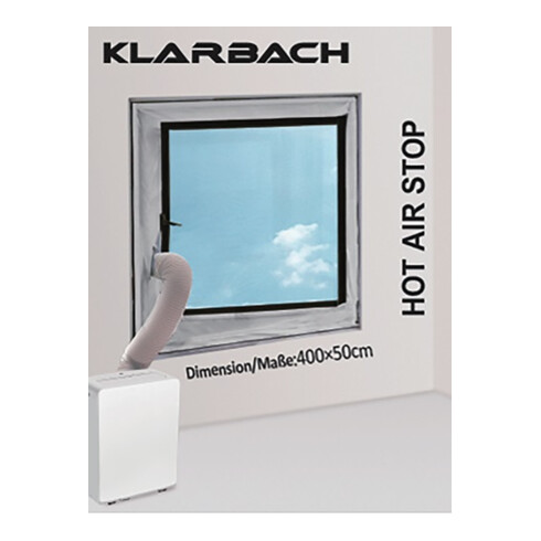 Fensterabdichtung HAS_01 we L.400cm B.50cm Ku.
