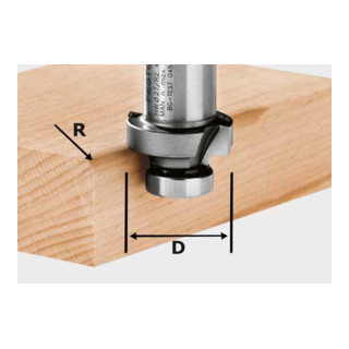 Festool Abrundfräser HW Durchmesser 27 mm OFK 500 (ohne Kugellager)