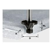 Festool Abrundfräser HW Schaft 12 mm R3/D22 (mit Anlaufkugellager)