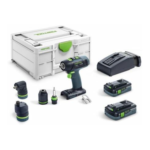 Festool Akku-Bohrschrauber T 18+3 HPC 4,0 I-Set