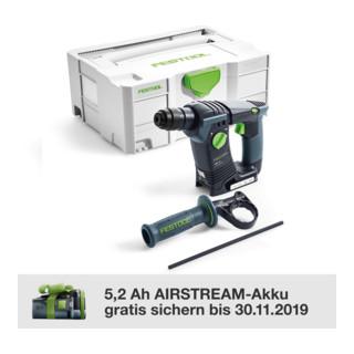 Festool Akku-Bohrschrauber T 18+3 Li 5,2-Set