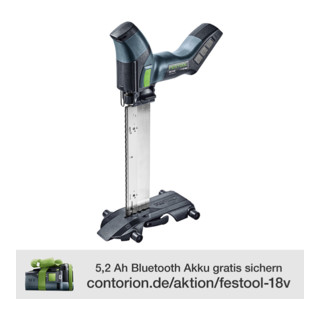 Festool Akku-Dämmstoffsäge ISC 240 Li EB-Basic