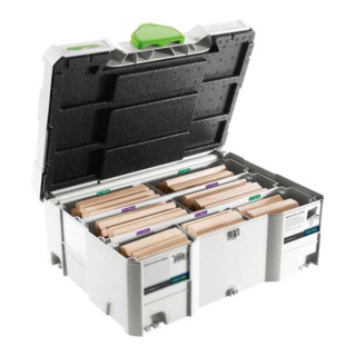 Festool DOMINO XL Buche Sortiment DS/XL D12/D14 128x BU