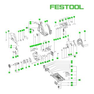 Festool Einlage SYS - TS 55 EBQ 465723