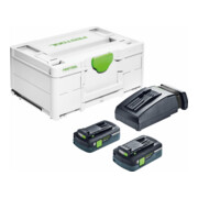 Festool Energie-Set SYS3 ENG 18V 2x4,0/TCL6