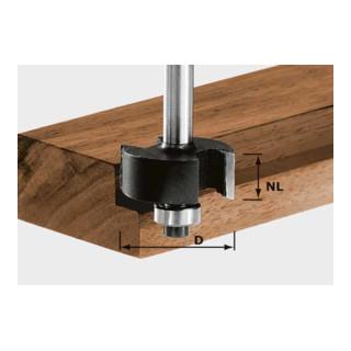 Festool Falzfräser HW Schaft 8 mm HW S8 D31,7/NL 12,7