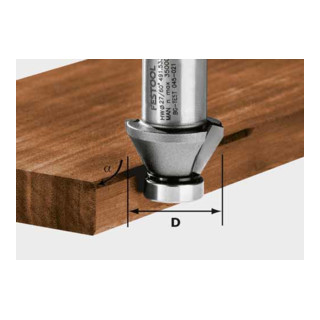 Festool Fasefräser HW Durchmesser 27 mm OFK 500 (ohne Kugellager)