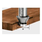 Festool Fasefräser HW HW 45°-OFK 500 (ohne Kugellager)