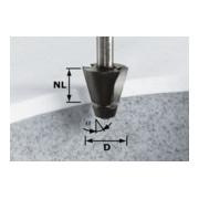 Festool Fasefräser HW Schaft 12 mm D33,54/15° (mit Anlaufkugellager)