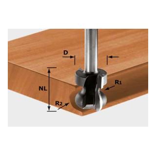 Festool Griffleistenfräser HW Schaft 8 mm HW S8 D22/16/R2,5+6