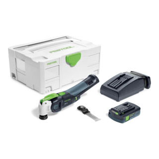Festool Oszillierer OSC 18 Li 3,1 E-Compact Vecturo