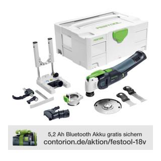 Festool Oszillierer OSC 18 Li E-Basic Set Vecturo