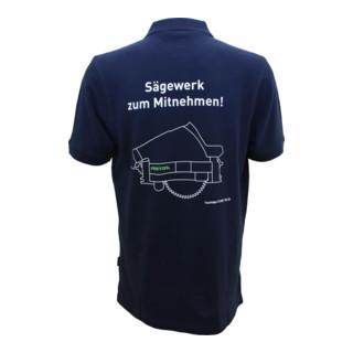 Festool Poloshirt Sägewerk dunkelblau für Herren