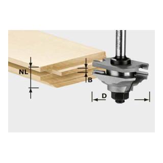 Festool Profil-Federfräser HW Schaft 8 mm HW S8 D46 x D12-FD