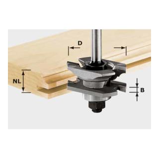 Festool Profil-Nutfräser HW Schaft 8 mm HW S8 D46 x D12-NT