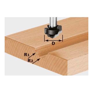 Festool Profilfräser HW Schaft 8 mm HW S8 D19/R5/R4