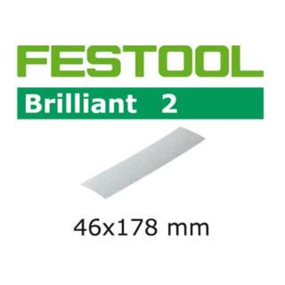 Festool Schleifblätter STF 46x178/0 P80 BR2/10 Brilliant 2