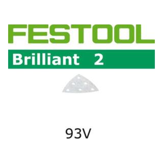 Festool Schleifblätter STF 93V/6 P40 BR2/10 Brilliant 2