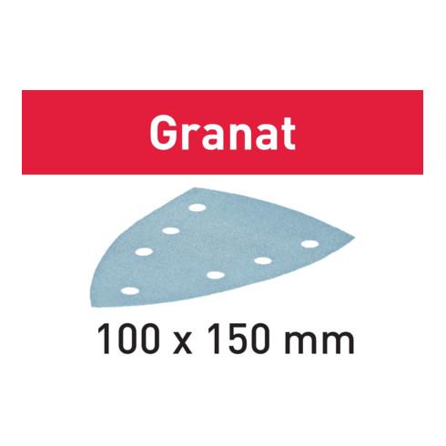 Festool Schleifblätter STF DELTA/7 Granat 100 Stück