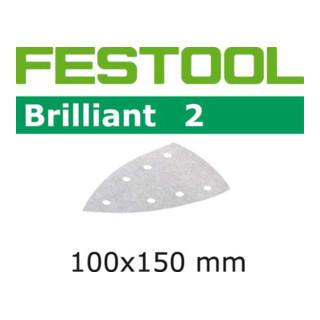 Festool Schleifblätter STF DELTA/7 P120 BR2/10 Brilliant 2
