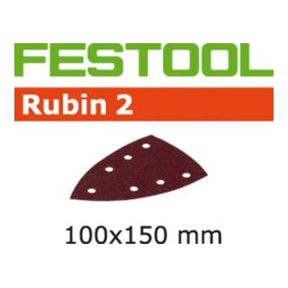 Festool Schleifblätter STF DELTA/7 P80 RU2/10 Rubin 2